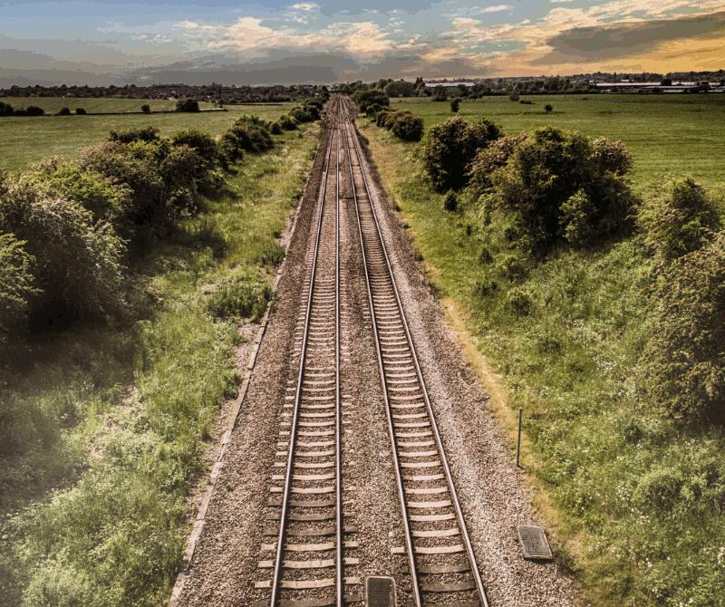 Transportera på järnväg
